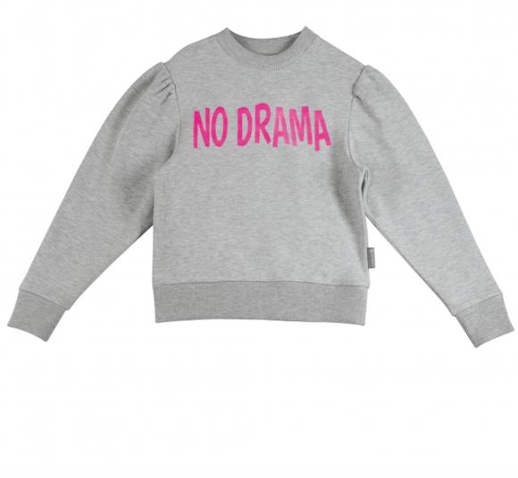 Grey Trui No Drama