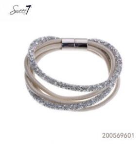 Magneet Glitter Zilver