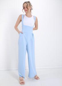 Dungaree With Pockets Licht Blauw